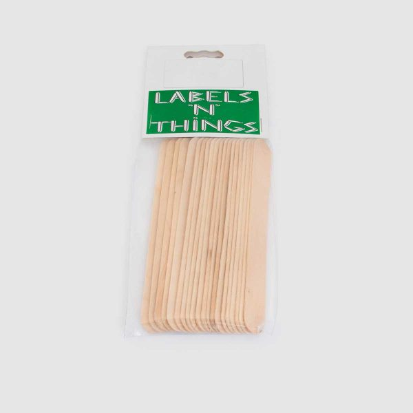 Wooden Plant Labels 15cm Pack of 20