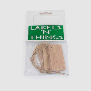 Stubby Wooden Plant Labels Pack of 10