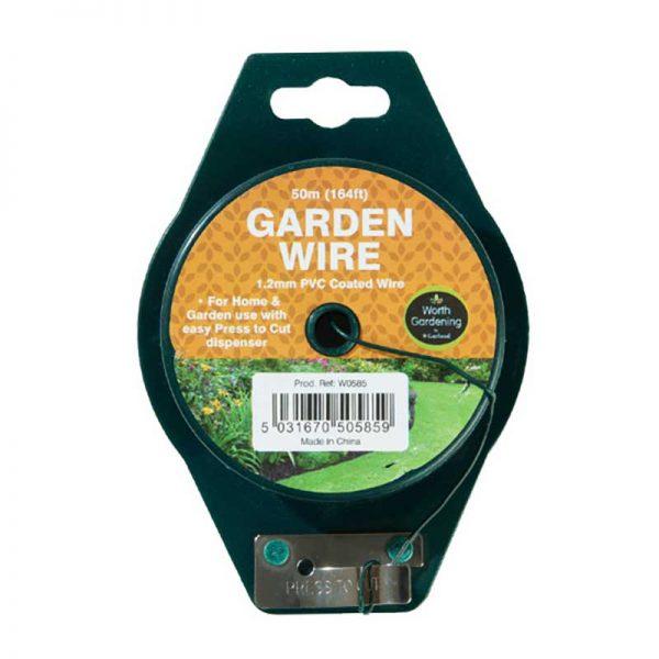 Clip n Twist dispenser and garden wire
